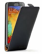 Ultra Slim BLACK Leather case cover for Galaxy Note 3 III LTE SM-N900A SM-N9005