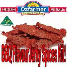 1 x Jerky Spices Kit  Homemade Beef Jerky BBQ Fish & Steak Zesty Citrus Wedges