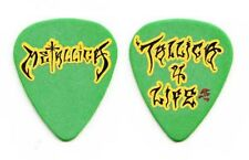 Metallica Tallica 4 Life James Hetfield Signature Green Guitar Pick - 2004 Tour