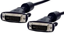 NEW HIGH QUALITY 10M TEN METRE DIGITAL VIDEO DUAL LINK DVI-I MALE-MALE
