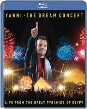 YANNI New Sealed Ltd 2016 LIVE CONCERT IN EGYPT BLU RAY