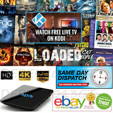 Latest MXQ Smart TV Box KODI Full Loaded M8S Android 6 Free 4K HD Sports Movies