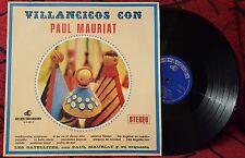 """PAUL MAURIAT Y SU ORQUESTA Con Los Satellites """"Villancicos"""" RARE 1969 Spain LP"""