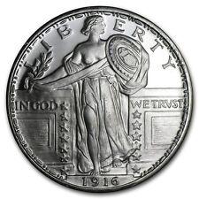 Médaille Argent 999/1000 1 Liberté debout 1916 - 1 Oz silver