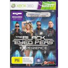 MICROSOFT XBOX 360 BLACK EYED PEAS: EXPERIENCE, THE PAL AUSTRALIAN SELLER [BN]