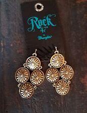 Cowgirl Gypsy AZTEC concho Western Southwestern Earrings WRANGLER ROCK 47