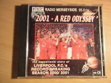 CD 2001 A RED ODYSSEY RADIO MERSEYSIDE LIVERPOOL FC SEASON 2000/2001 Mastersound