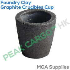 200ml foundry graphite creusets cup four torche fonte coulage or cuivre