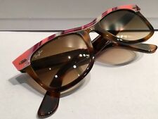 Ray ban 2143 1026/51 NOS wayfarer originale nuovo rarissimo Made in Italy