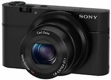 Sony Cyber-shot DSC-RX100 20.2 MP Digital Camera - Black