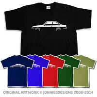 RETRO 70s FORD ESCORT MK2 RS RS2000 CAR T-SHIRT - CHOOSE FROM 6 COLOURS (S-XXXL)