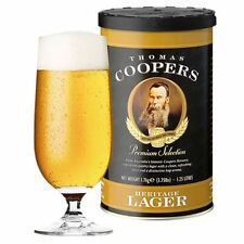 Coopers Heritage Lager 1.7kg - Beer Kit Refill - 23L / 5 Gallons / 40 Pints