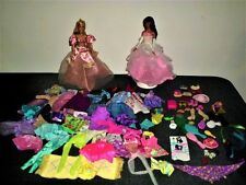 GREAT HUGE LOT OF BARBIE CLOTHES,DOLLS AND ACCESSORIES.