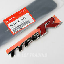 Authentic JDM Honda Civic Type R Rear Emblem 2007-2010 FD2, 75717-SMT-E00