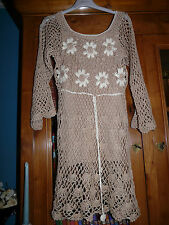 Robe/tunique en mailles crochet T40/42