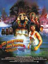 Big Trouble In Little China Poster 03 A3 Box Canvas Print