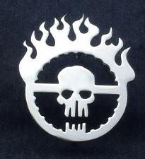 Grill Badge Emblem Billet Mad Max Logo High Luster Aluminum Polish