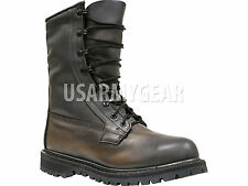 New ROCKY US ARMY Black Leather Military Combat Goretex Waterproof ICWB Boots 6
