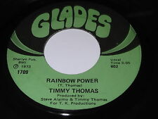 Timmy Thomas: Rainbow Power / People Are Changin' 45 - Soul