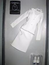 Franklin Mint Diana The People's Princess Doll White Suit Ensemble DEBOXED