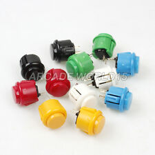 12x New OEM 24mm Push Buttons Replace For Sanwa OBSF-24 Button Arcade Machine