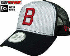 Boston Red Sox New Era MLB Vintage Logo Mesh Trucker Cap