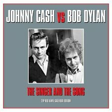 Johnny Cash Vs. Bob Dylan - The Singer And The Song (Red Vinyl 2LP) NEW/SEALED