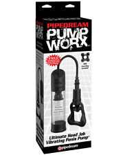 Desirable Pipedream Pump Worx Ultimate Head Job Vibrating Penis Pump