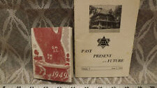1949 Omega Sigma CHI Booklet  University of Wisconsin, Jr Prom Program