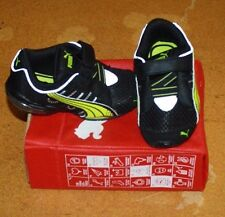 PUMA VOLTAIC 3 V SIZE TODDLER 8 BLACK/GREEN FREE SHIPPING NEW IN BOX