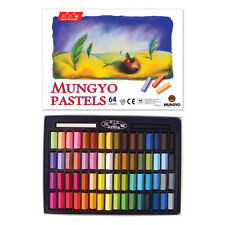 Artist Short Soft Pastels 64 Colors Set - Non-toxic Square Chalk for Art Drawing