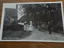Dutch Postcard Village bikes Ultspanning Oranjezon Zealand Holland Netherlands