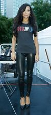 "$1050 J BRAND L8001 ""SUPER SKINNY"" LEATHER LEGGING, SZ 28 NOIR NOTHING SEXIER!!"