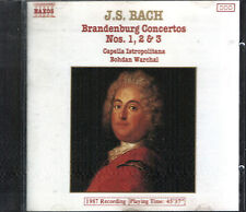 J S Bach Brandenburg Concertos No's 1-3 On CD With Full Jewel Case