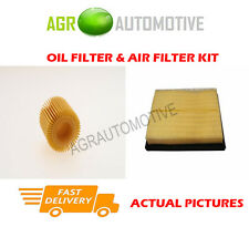 HYBRID SERVICE KIT OIL AIR FILTER FOR TOYOTA PRIUS 1.8 99 BHP 2009-