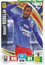 065 RONNY RODELIN FRANCE SM.CAEN MOUSCRON CARD ADRENALYN LIGUE 1 2017 PANINI