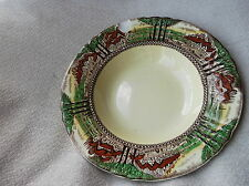 VINTAGE DECO LARGED RIMMED SOUP BOWL MYOTT ENGLAND'S COUNTRYSIDE 3452