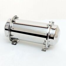 """10.2"""" Stainless Steel Time Capsule Waterproof Lock Container Storage Future Gift"""