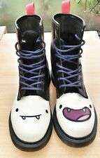 Dr martens women's adventure time off noir/blanc cartoon network uk 6 euro 39