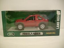 NIB 1:18 Scale Red FREELANDER LAND ROVER Die-cast By Ertl Collectibles