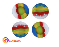 4 X Silicone Colorfull Thumbstick Protective Convex Grip Cap for Xbox PS3 PS4
