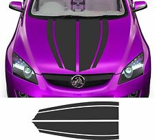 "VINYL GRAPHICS DECAL STICKER RACING HOOD STRIPE CAR AUTO TRUCK 6STP-13 20"" x 48"""