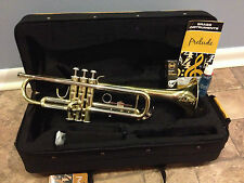 BRAND NEW PRELUDE BY BACH TR711 SELMER Bb TRUMPET with FREE CARE KIT!!!
