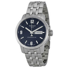 Tissot PRC 200 Powermatic 80 Automatic Blue Dial Stainless Steel Mens Watch