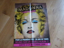 MADONNA - CELEBRATION !!RARE FRENCH PROMO  PRESS/KIT POSTER