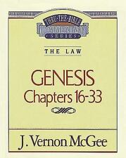 TTB: Thru the Bible: Genesis 2 Chapters 16-33 by J. Vernon McGee - New Paperback