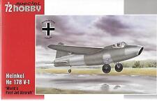 Special Hobby Heinkel He 178 V-1 in 1/72 SH 72321 ST