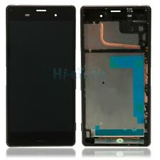LCD Touch Screen Digitizer Assembly + Frame for Sony Xperia Z3 D6603 D6643 D6653