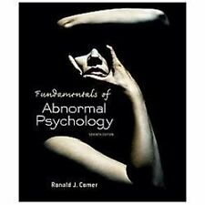 Fundamentals of Abnormal Psychology by Ronald J. Comer (2013, 7th Edition)