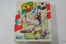 KICK Off 2 & World Cup 90-AMIGA GAME-COMMODORE-Cib